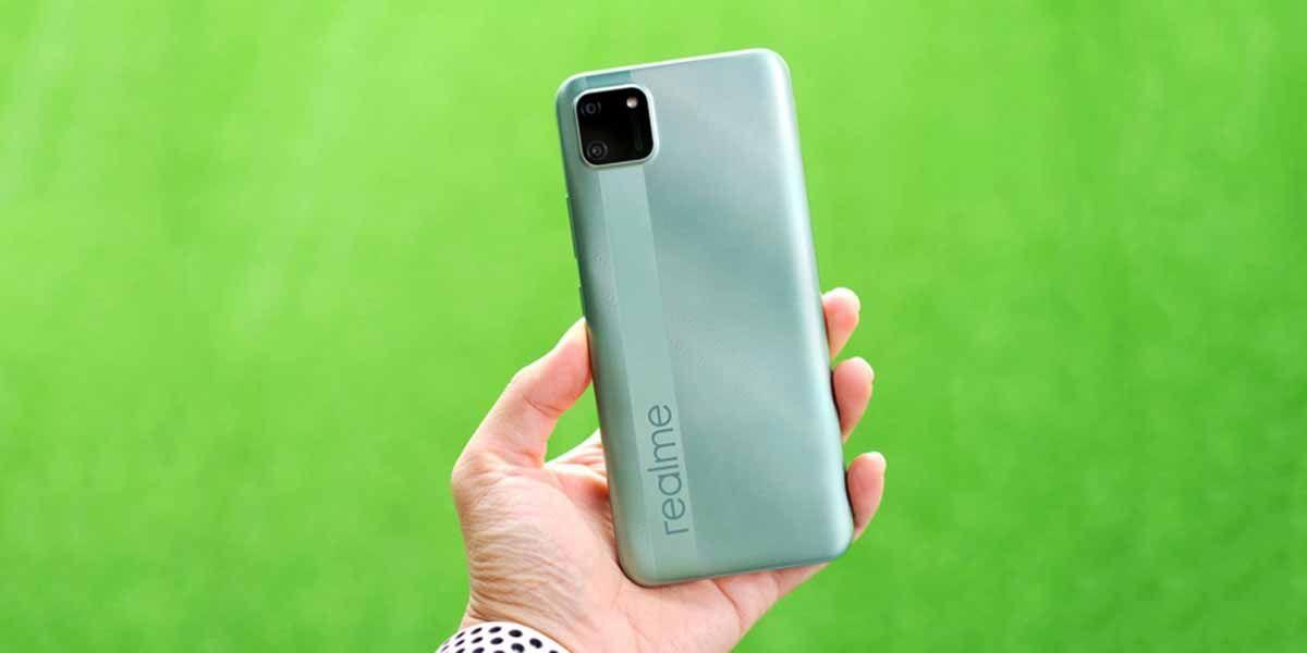 Realme C11 un móvil barato que no decepciona