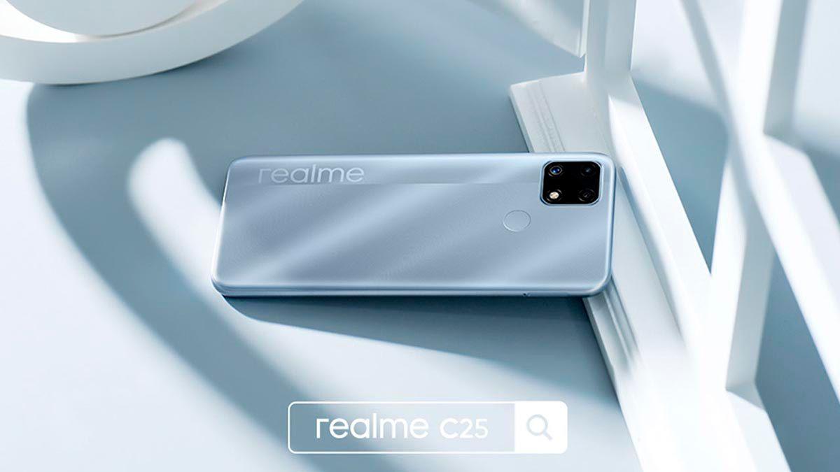 Realme C25 bateria