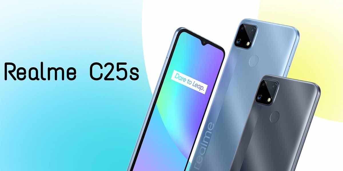 Realme C25s especificaciones precio