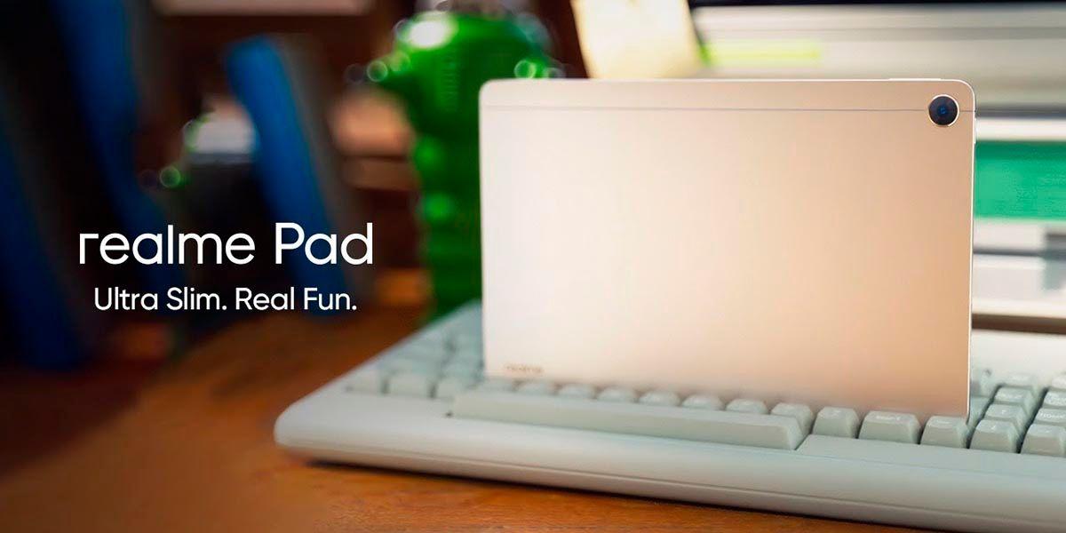 Realme Pad tablet barata y con una bateria grande