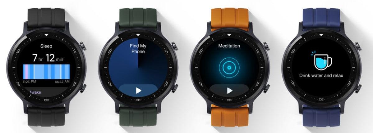 Diseño del smartwatch realme Watch S
