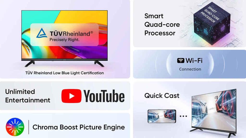 Realme cambia de sistema operativo para abaratar los costes de su nueva Smart TV Neo 32