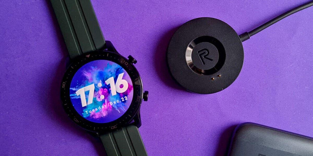 Realme watch s carga