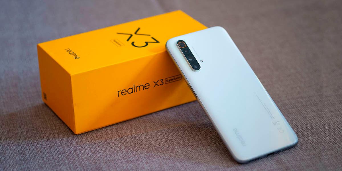 Realme x3 superzoom gama alta 2020 con snapdragon 855 plus super rendimiento