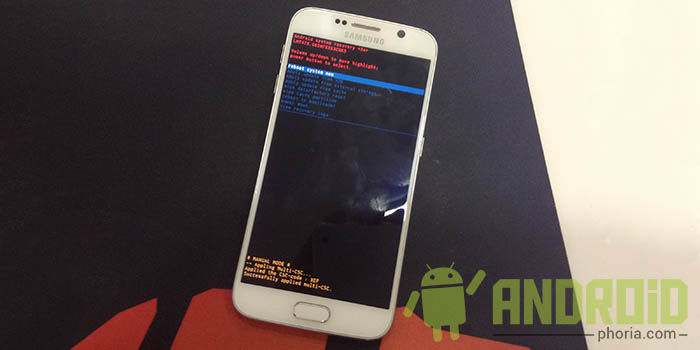 Recovery Galaxy S6
