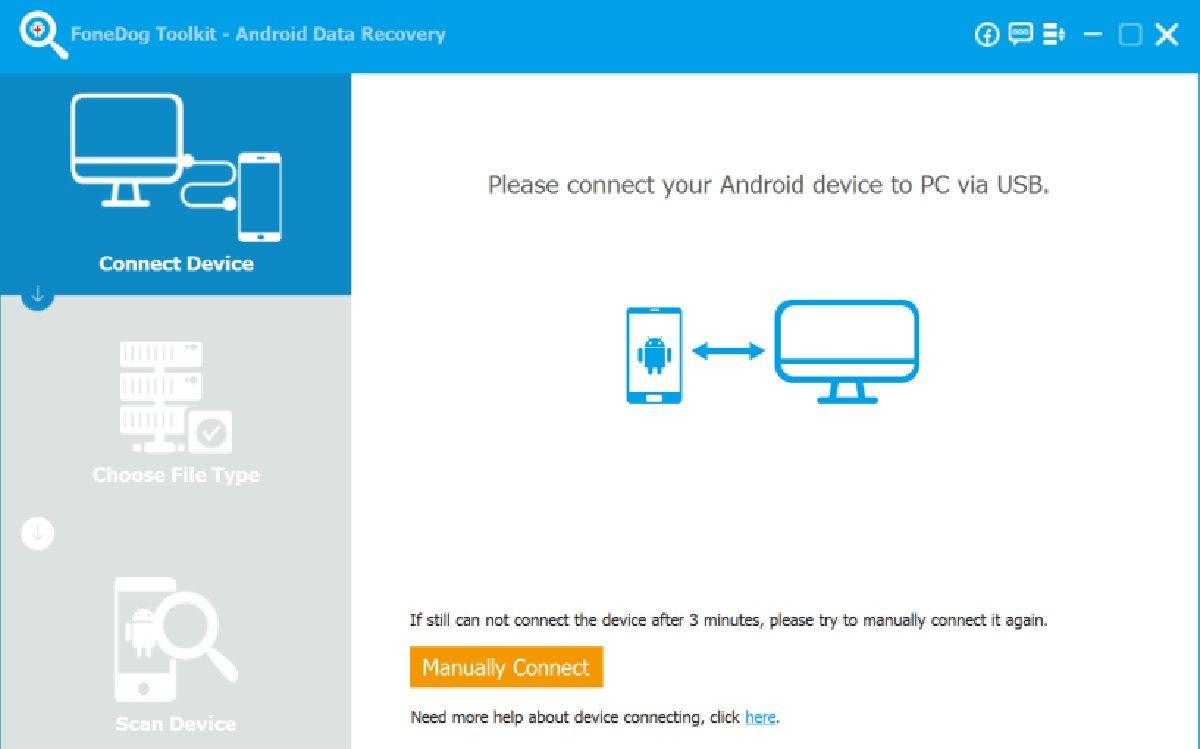 Recupera datos borrados en un Xiaomi con FoneDog Toolkit