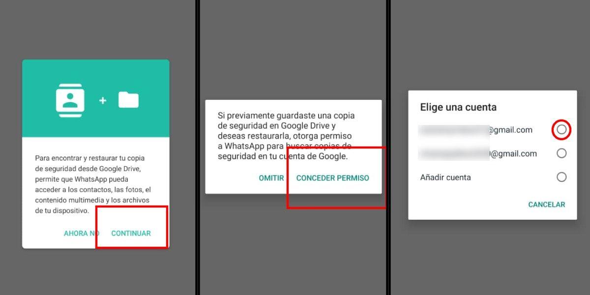 Recupera tus datos de WhatsApp desde la nube