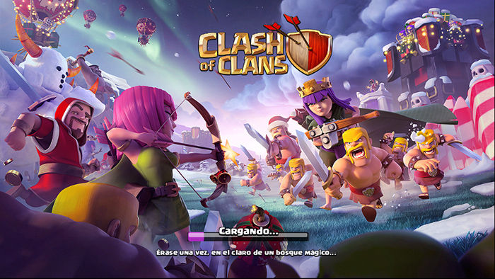 Recuperar cuenta Clash of Clans paso 1