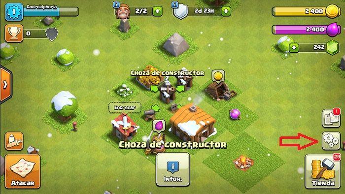 Recuperar cuenta Clash of Clans paso 3