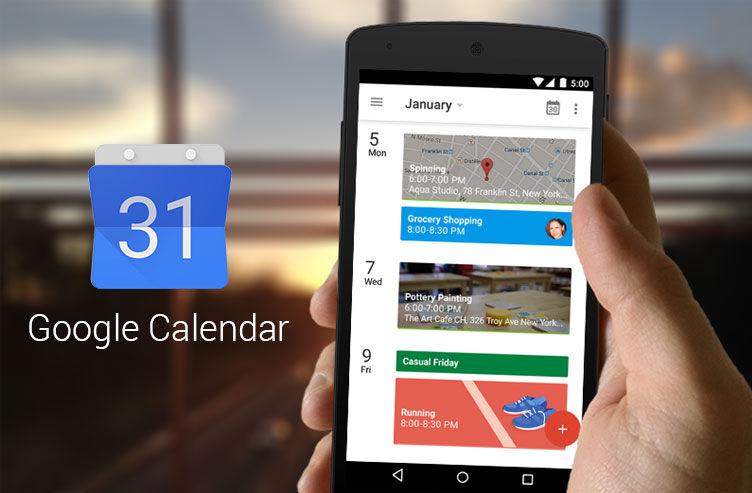 Recuperar eventos eliminados de Google Calendar