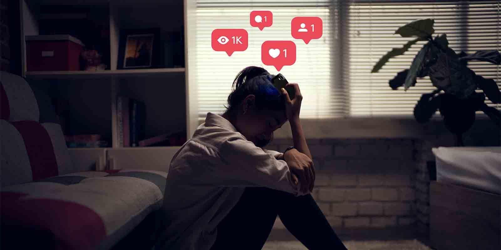 Redes sociales generan depresión ansiedad