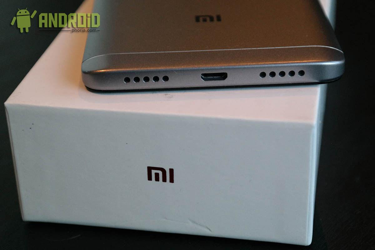 Redmi Note 4X altavoz