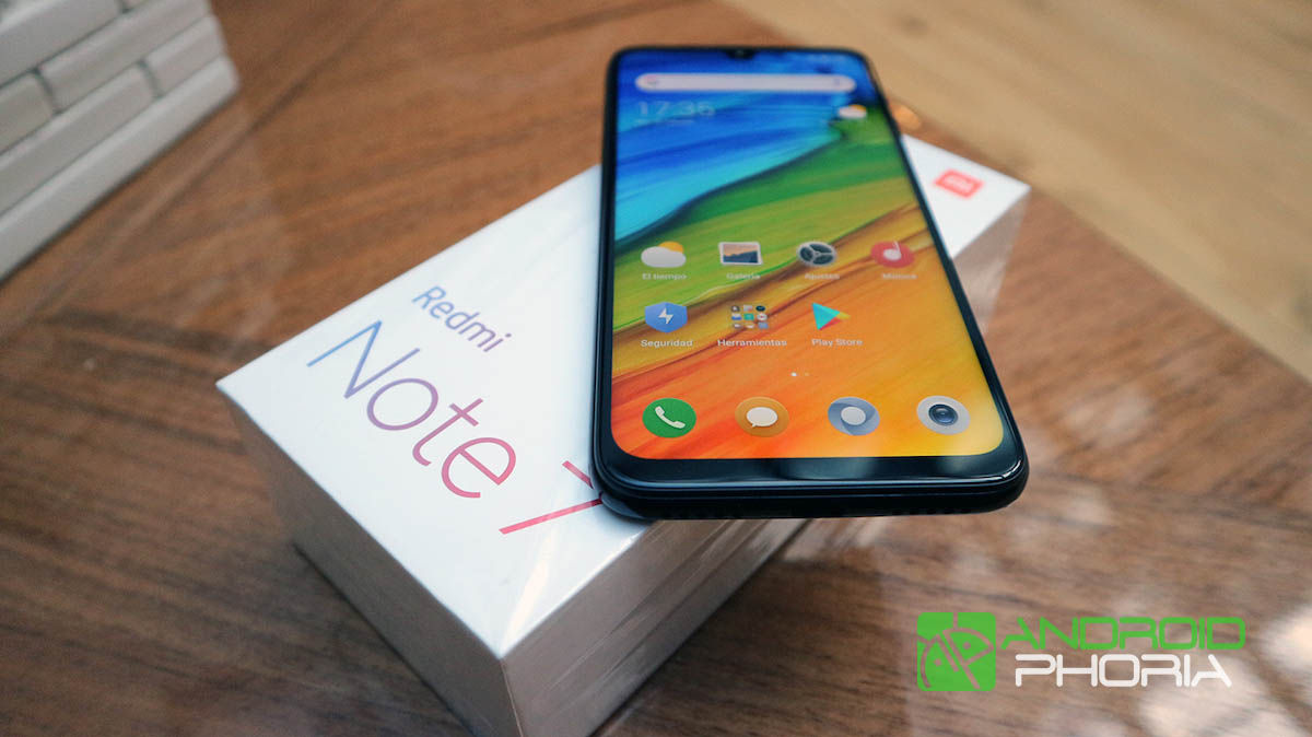 Unboxing del Redmi Note 7