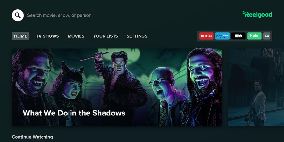 Reelgood, la app de Android TV para saber que pelis y series ver