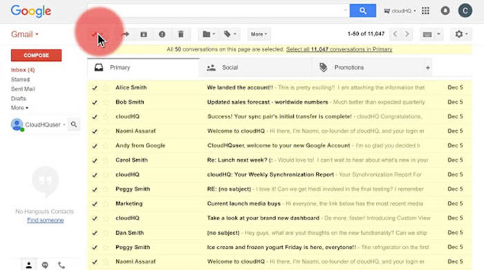 Reenviar correos en Gmail