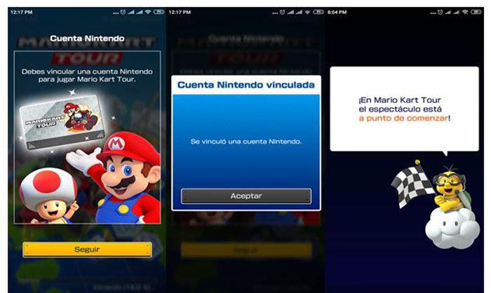 Registro Mario Kart Tour