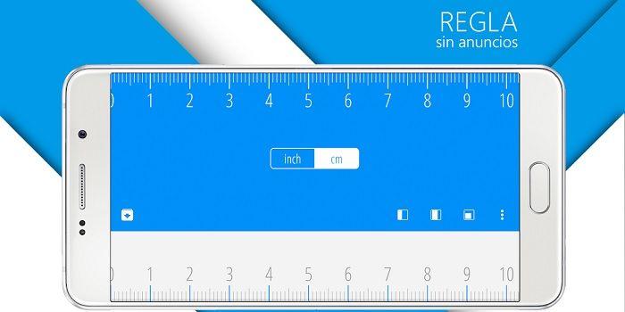 Regra do aplicativo de medição para telefones Android