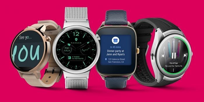 Relojes con Android Wear 2.0