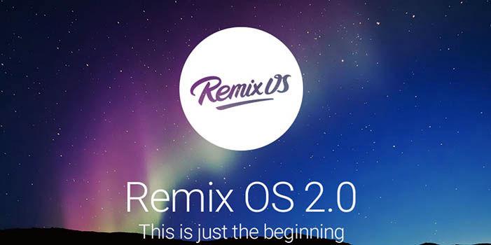 Remix OS 2.0 en PC