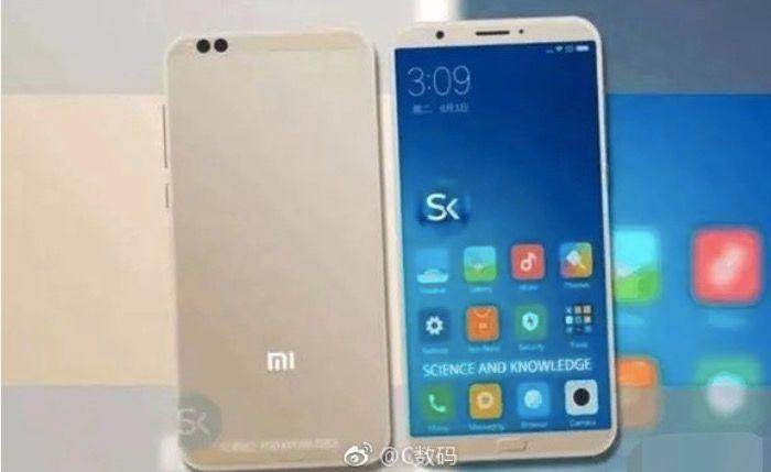 Renders del Xiaomi Mi 6C filtrados