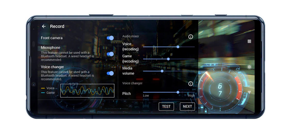 Rendimiento Sony Xperia ll