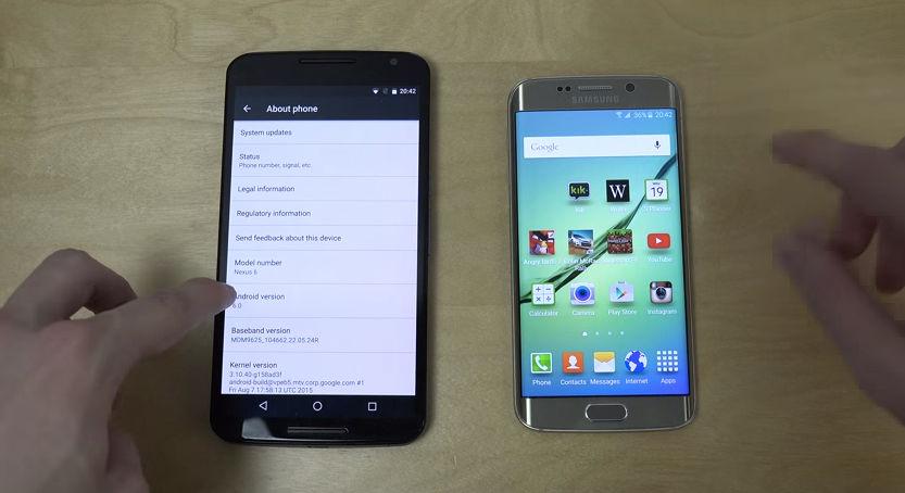 Rendimiento del Nexus 6 con Marshmallow