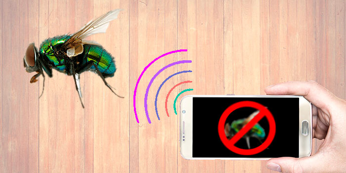 Repeler mosquitos con Anti Fly Sound