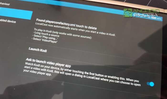Reproducir Kodi a traves de Chromecast 3