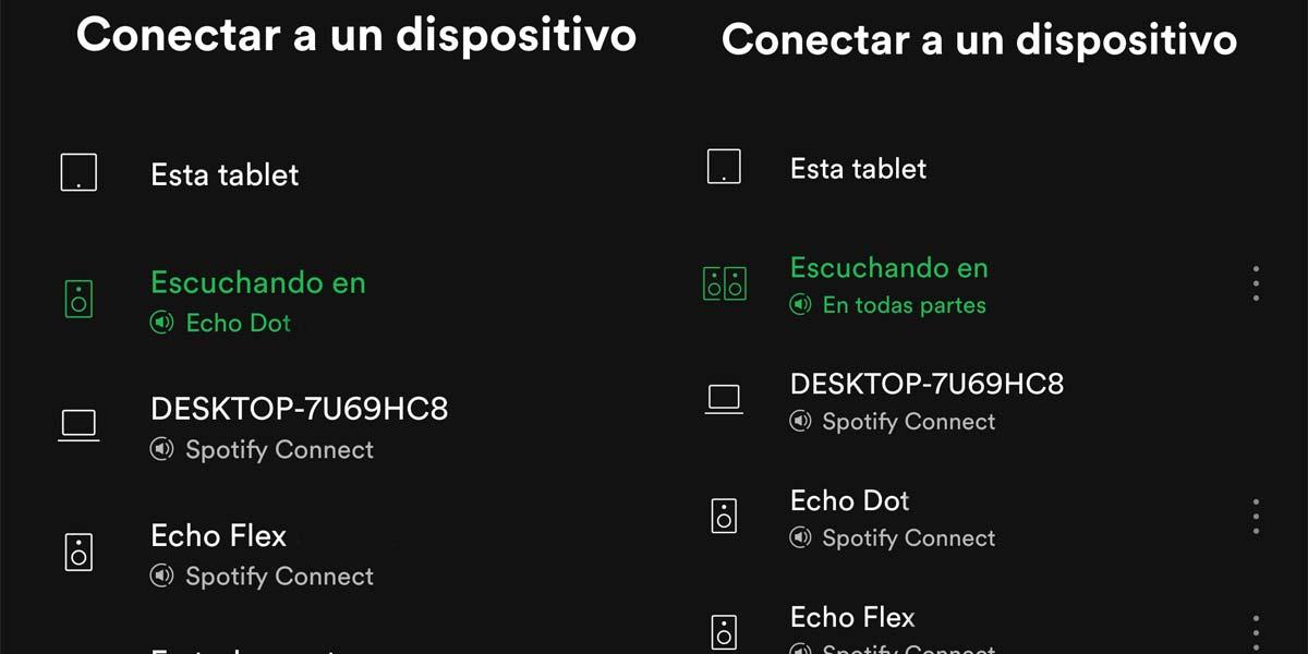 Utilizar Amazon Echo con Spotify
