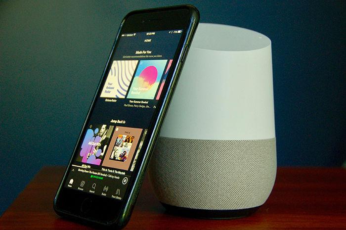 Reproducir musica Google Home