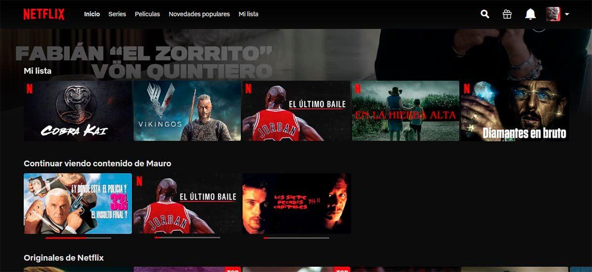 Reproducir serie Netflix
