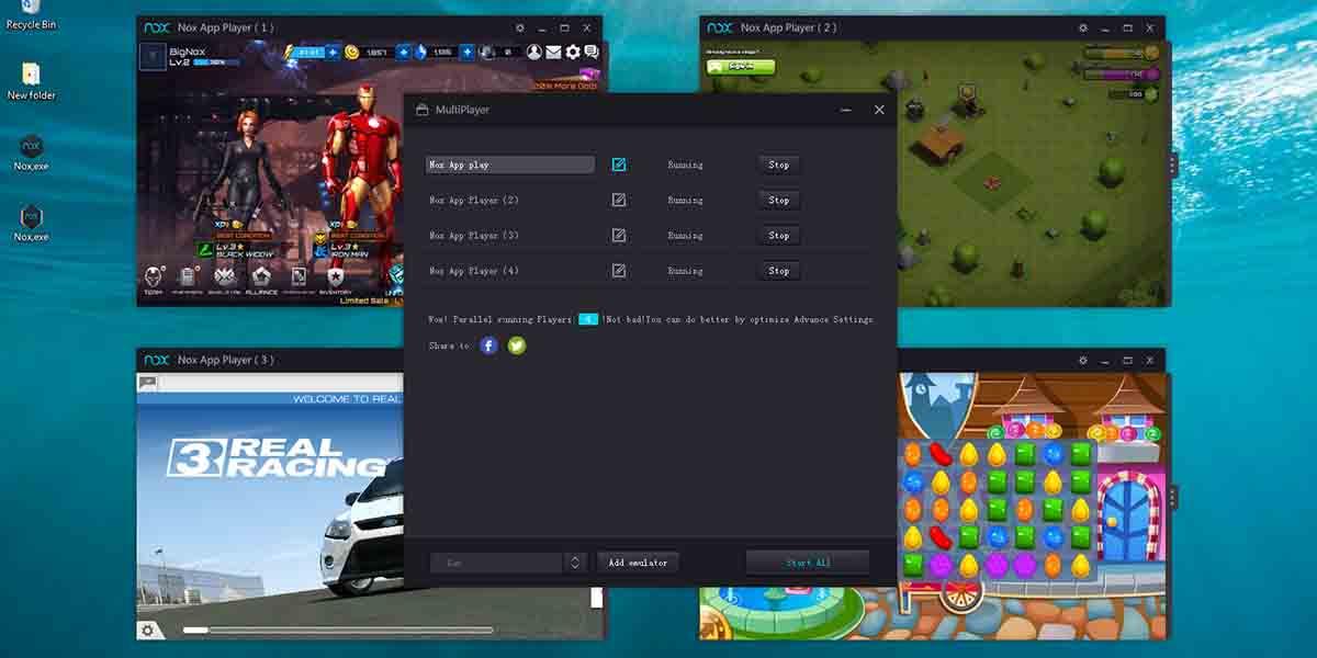 Requisitos para poder usar NoxPlayer
