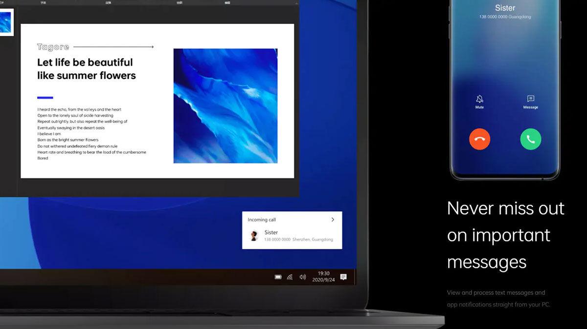 Requisitos y funcionamiento del Realme PC Connect para conectar la pantalla de tu smartphone al ordenador o portátil