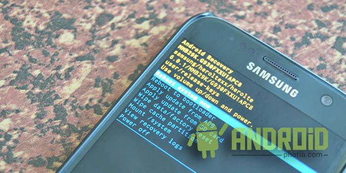 Resetear Galaxy S7