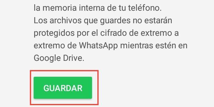Respaldo para GBWhatsApp en Android