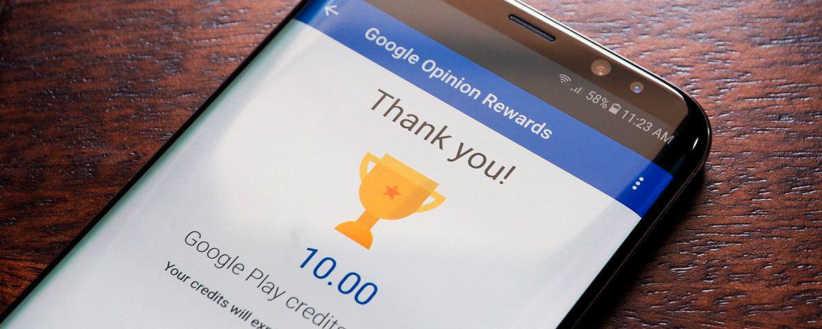 Responde con la verdad en google opinion reward