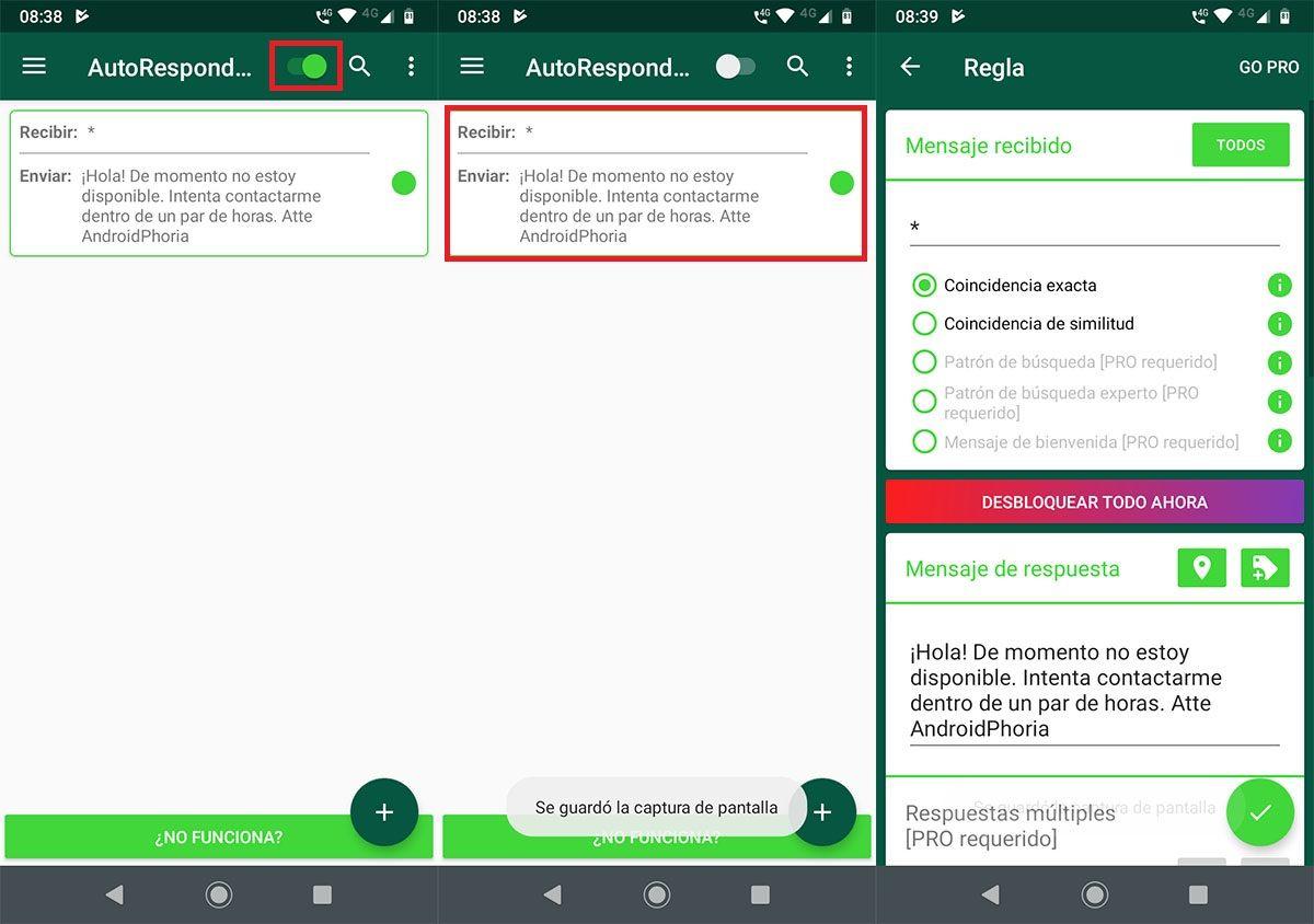 Responder automaticamente mensajes de WhatsApp