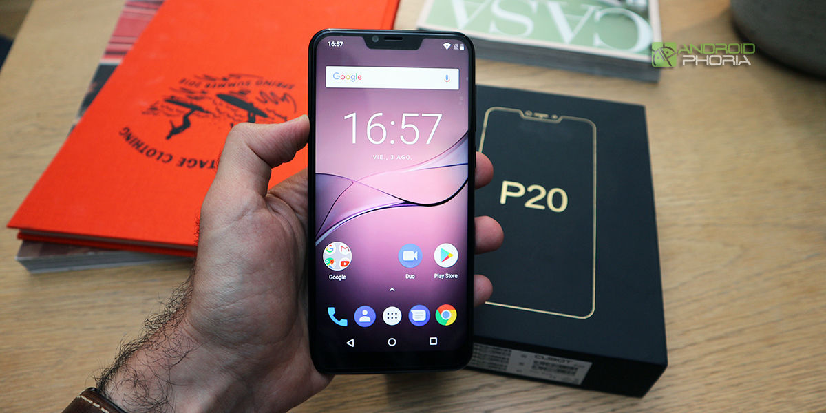 Review Cubot P20
