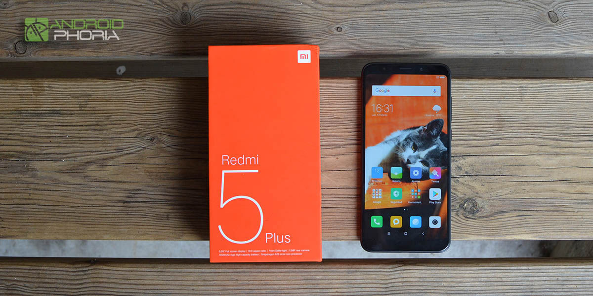 Xiaomi Redmi 5 Plus: análisis del mejor gama media de 2018