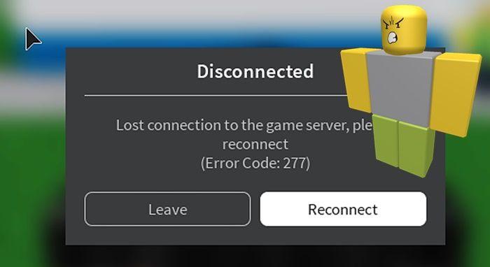 Roblox error 277