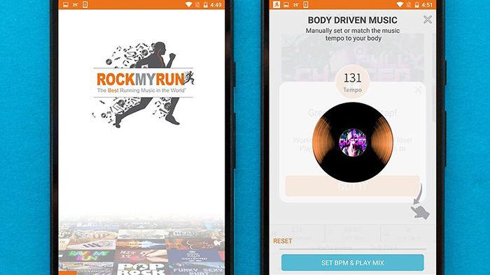 RockMyRun para Android