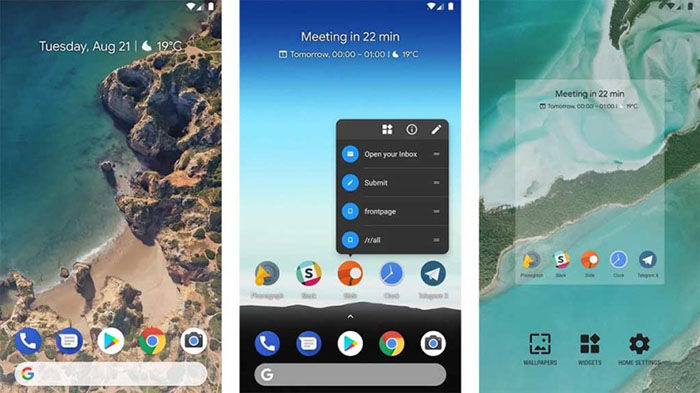 Rootless Launcher para Android