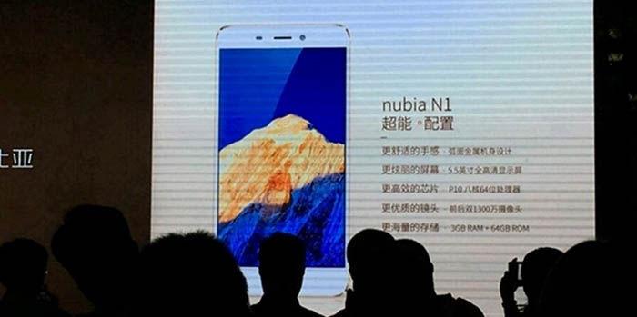 Rumores Nubia N1