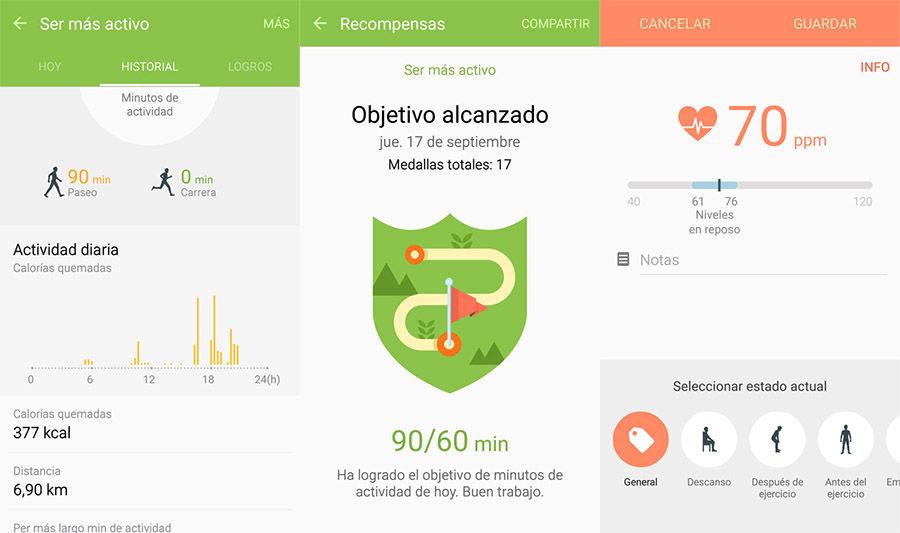 S Health para cualquier Android