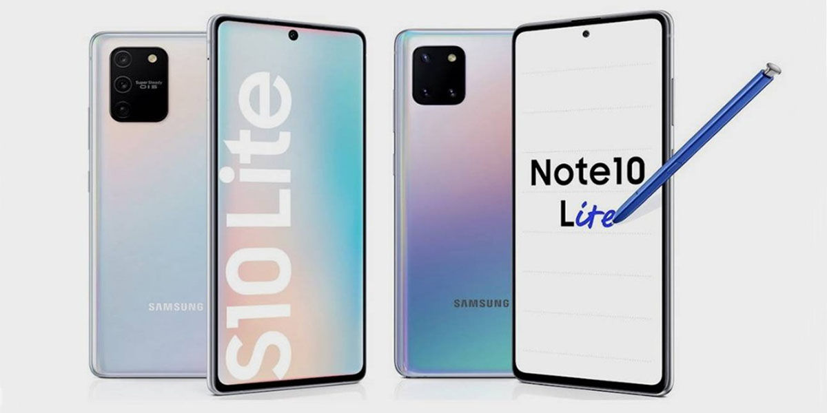 S10 Lite y Note 10 Lite
