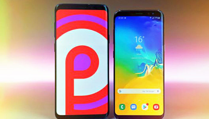 S8 Android 9