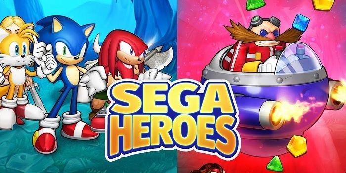 SEGA Heroes juego tipo Candy Crush para Android