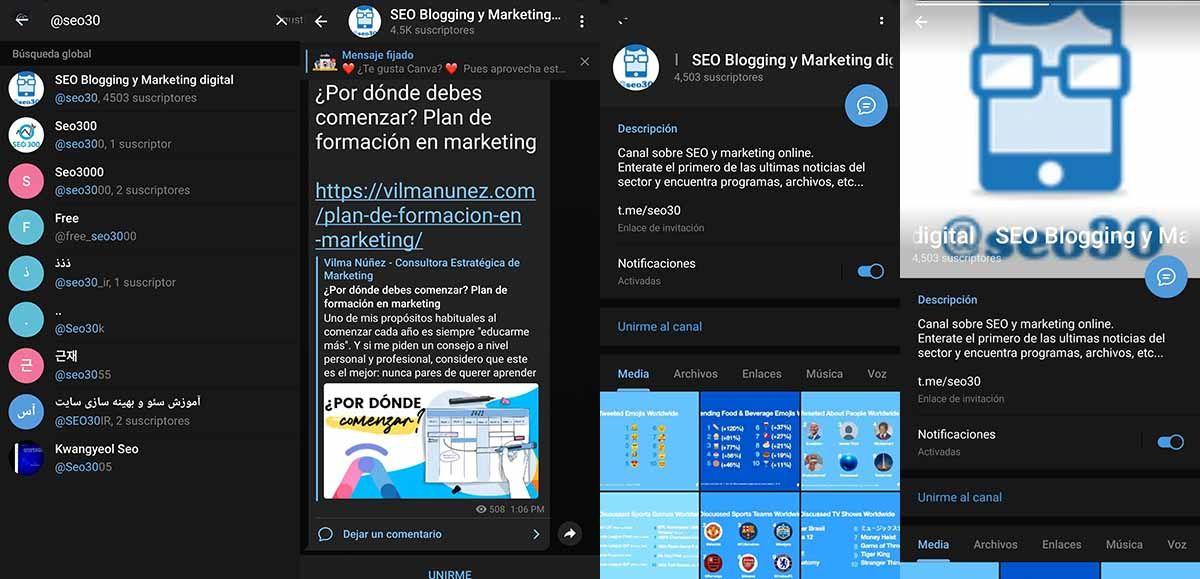 SEO Blogging y Marketing Digital un canal que no te puede faltar