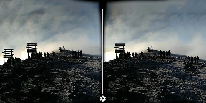 Sacar fotos VR