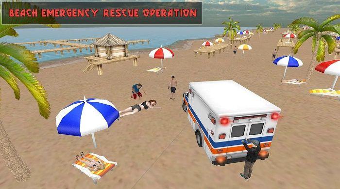 Salvavidas de la costa